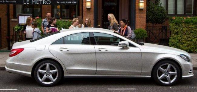 Лондон в шоке с авто Дарьи Радионовой