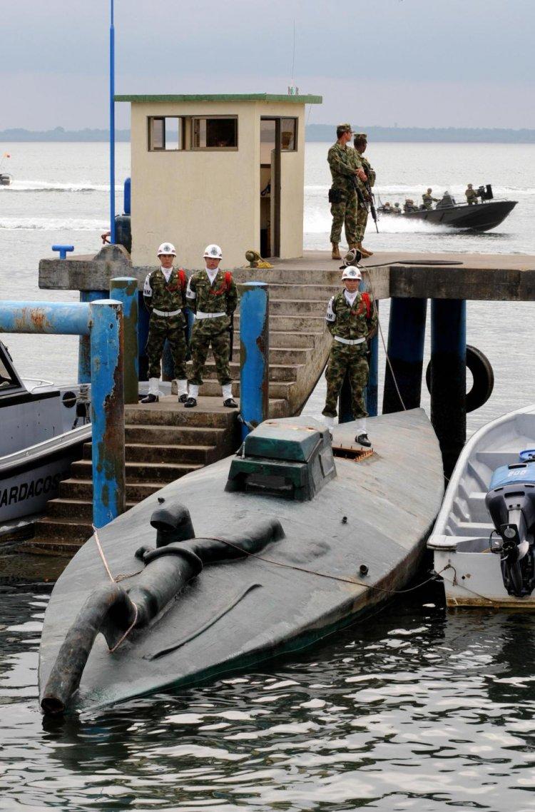 самодельные подводные лодки контрабандистов